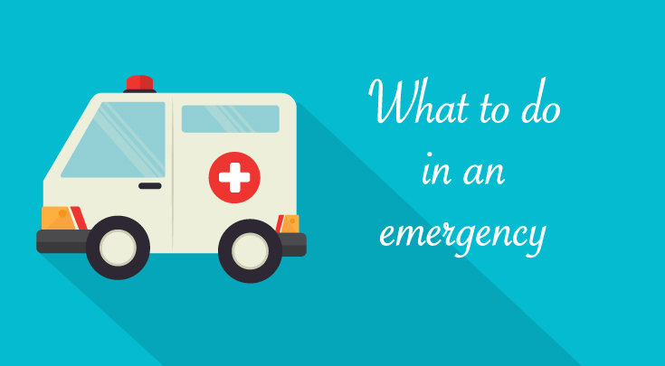 how to use health insurance in emergency
