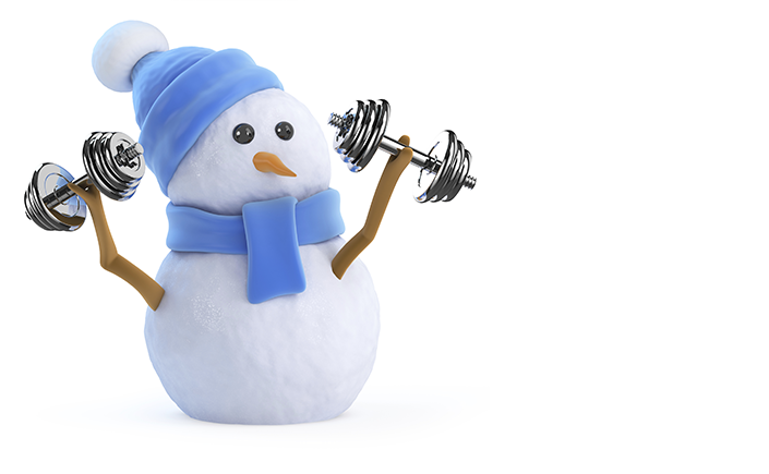Excercise motivation in winter