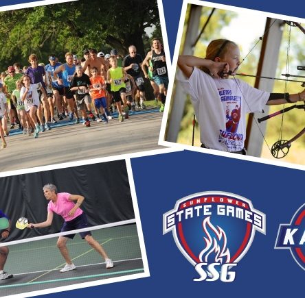 Sunflower State Games sponsored by Blue Cross and Blue Shield of Kansas