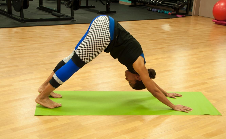 national yoga month at blue cross blue shield of kansas