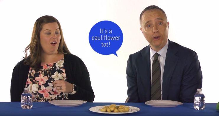 What do cauliflower tots taste like?