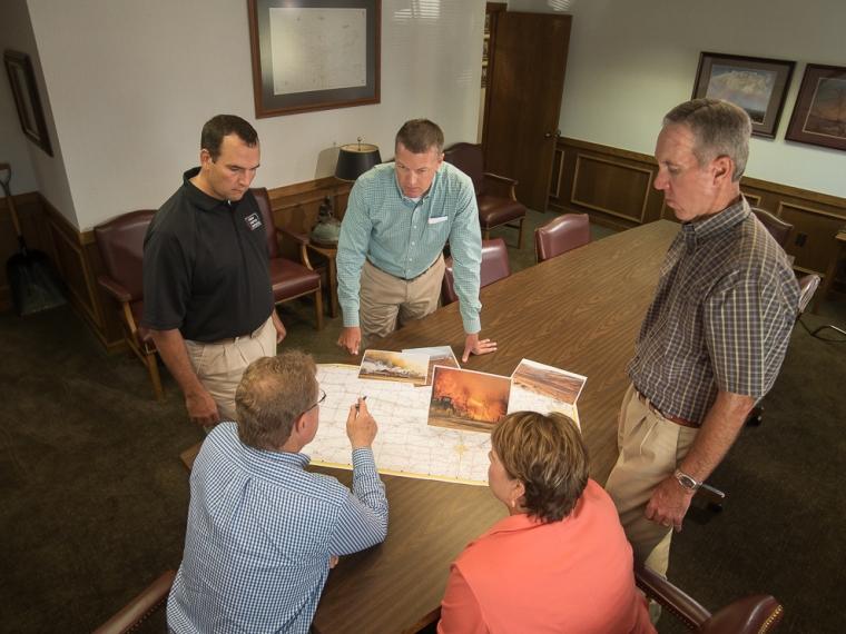 The Kansas Livestock Association serves with compassion