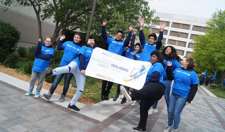 Chase Middle School students lead BCBSKS employees