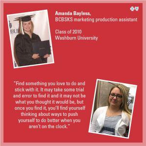 College advice feature - Amanda Bayless