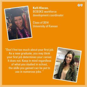 College advice feature - Kelli Klecan