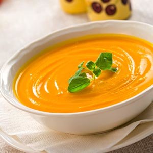 Pumpkin potato soup